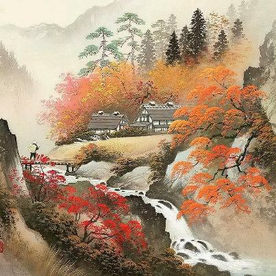 Chinese Scenery Paintings