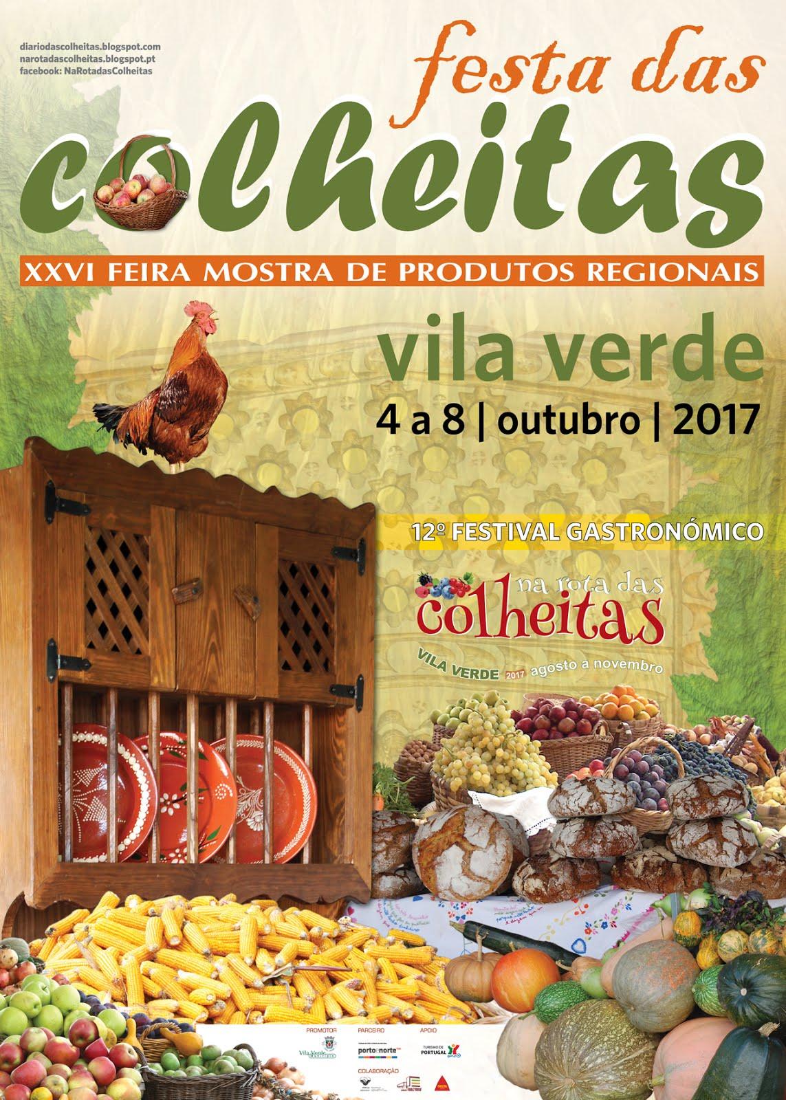 FESTA DAS COLHEITAS / XXVI FEIRA MOSTRA DE PRODUTOS REGIONAIS