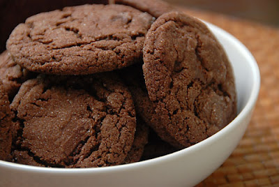 Quick chocolate cookies ~ Savor