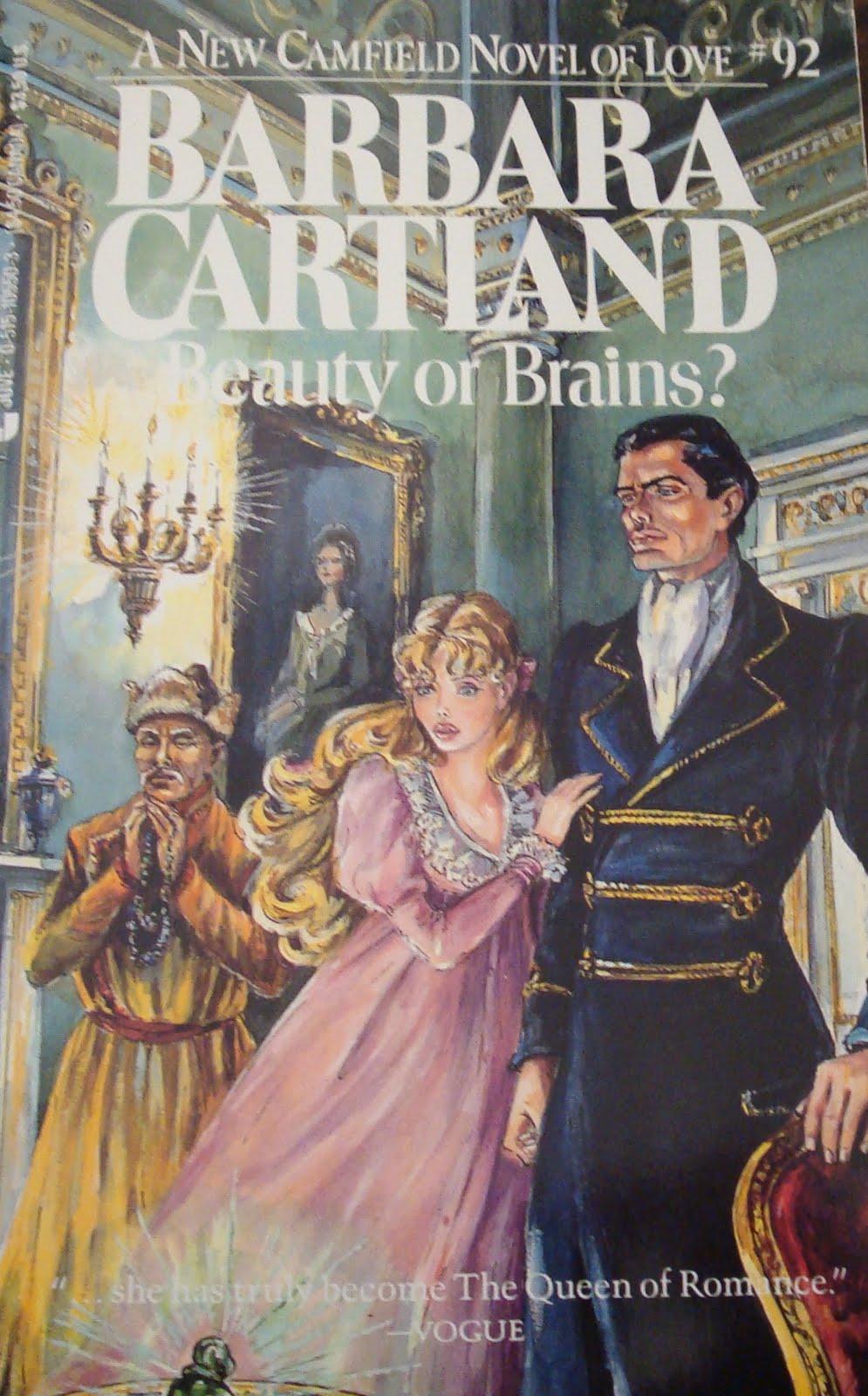 Book Cover Series January : Barbara cartland books and cover art january