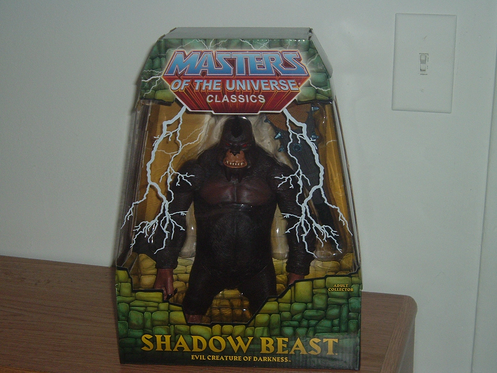 Mattel shadowbeast Action Figure