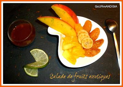 Image Salade de fruits exotiques