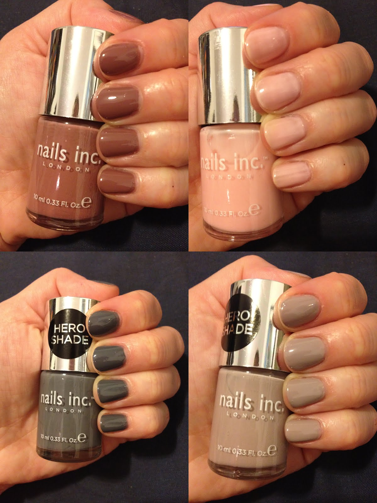 The Beauty of Life: Nails Inc. Colour Collection Swatches