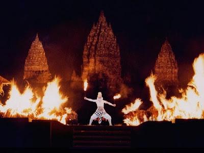 Sendratari Ramayana, Hanuman, Rama, Ravana, Candi Prambanan