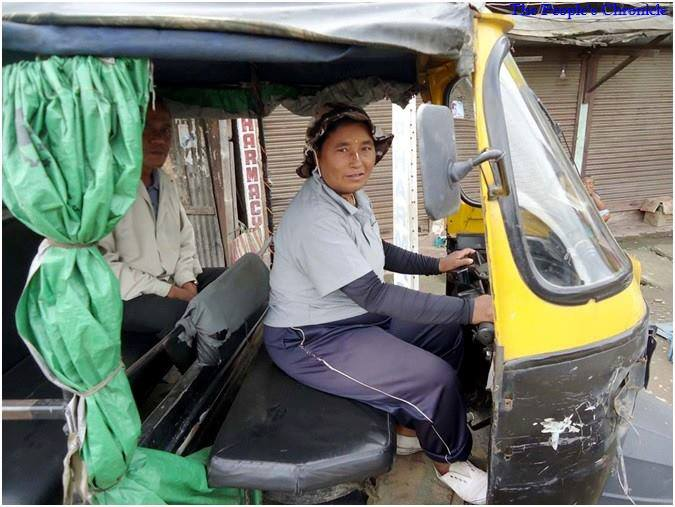 Oinam Laibi - Inspirational Story of a female Autorickshaw wala from Manipur
