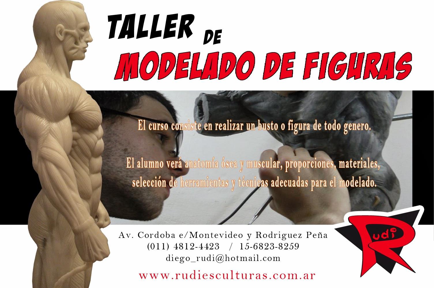Diego Rudi Esculturas: Taller de modelado de figuras