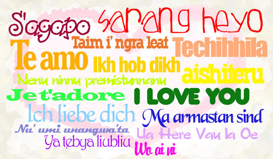ways but also say i love you in different languagesI Love You In Different Languages