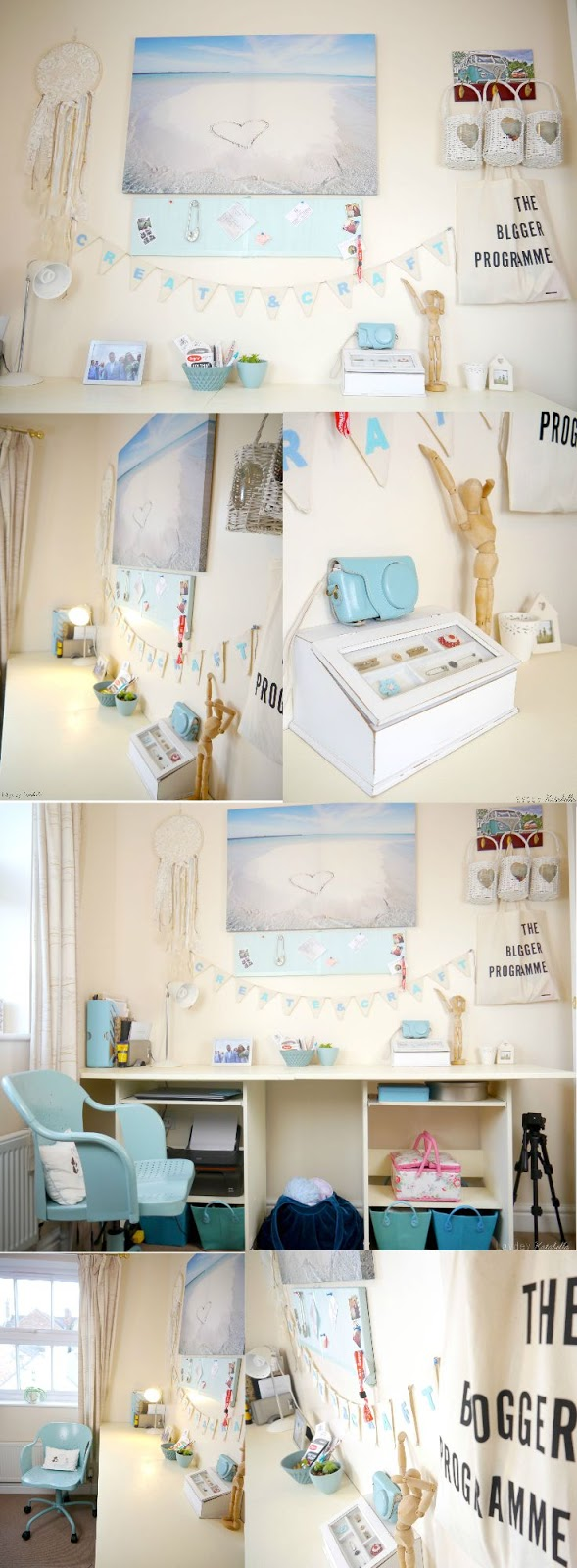 thrifty craft room