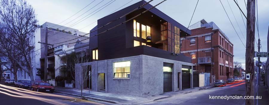 Arquitectura de casas casas modernas y contempor neas for Casas contemporaneas en esquina
