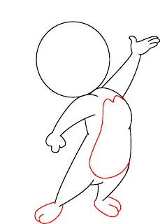 How To Draw Jerry Mouse Step 5