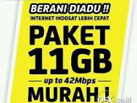 Produk Indosat Paket Super Internet Murah