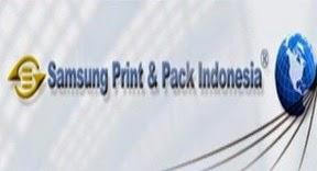 Lowongan Kerja PT. Samsung Print & Pack Indonesia Bogor
