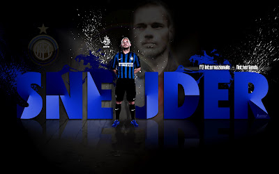 Wallpapers Sneijder Inter Milan 2012-2013