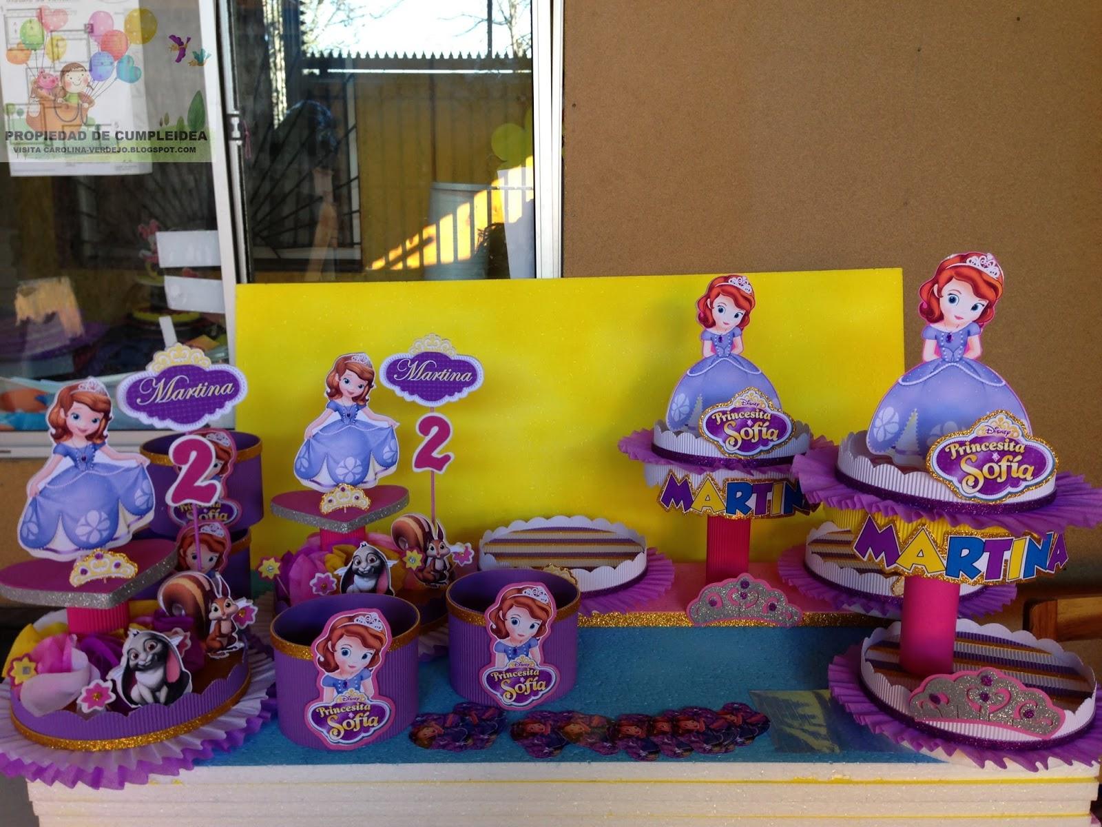 Decoraciones de la princesita sofia decoraci 211 n for Decoraciones infantiles