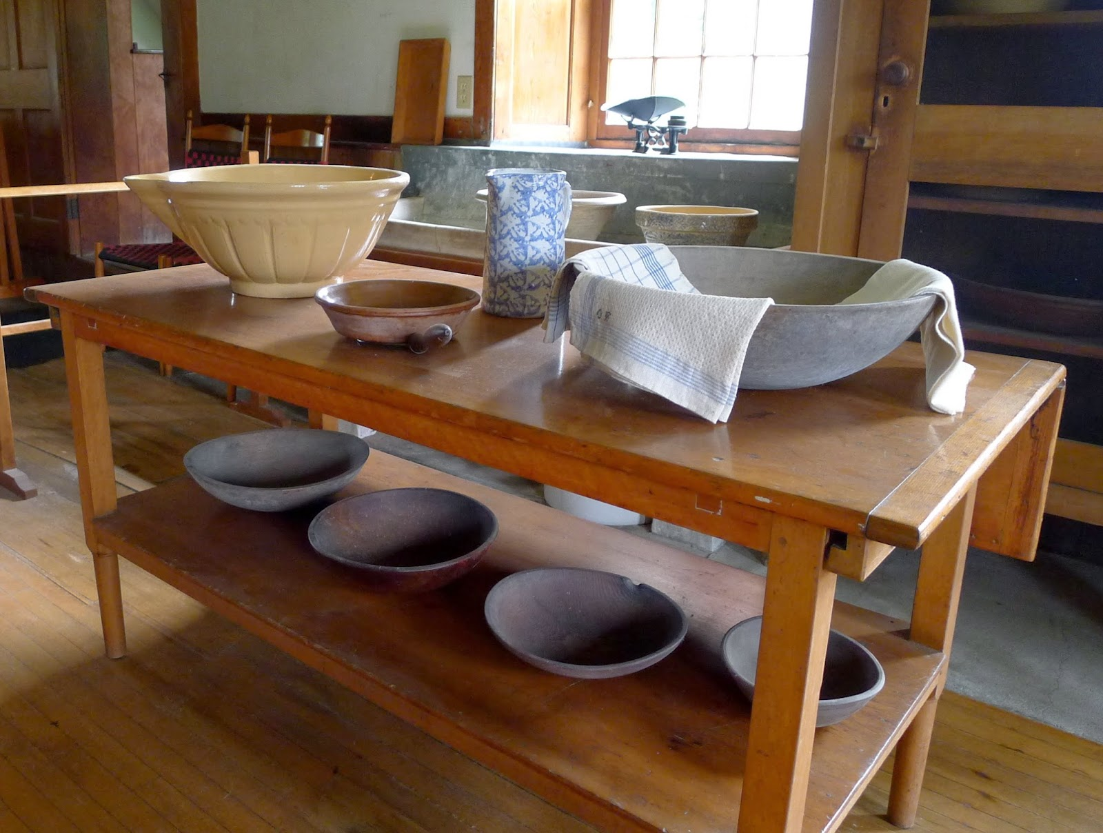 Hancock, Shaker Village Kitchen