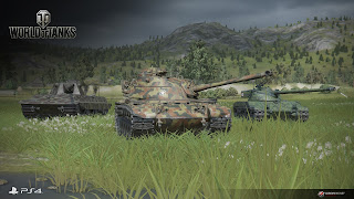 World Of Tanks ανοιχτή Beta στο PS4!