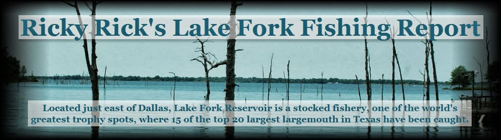Ricky Rick's Lake Fork Fishing Report