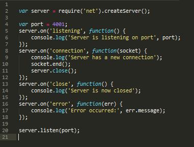 building a chat application using node.js