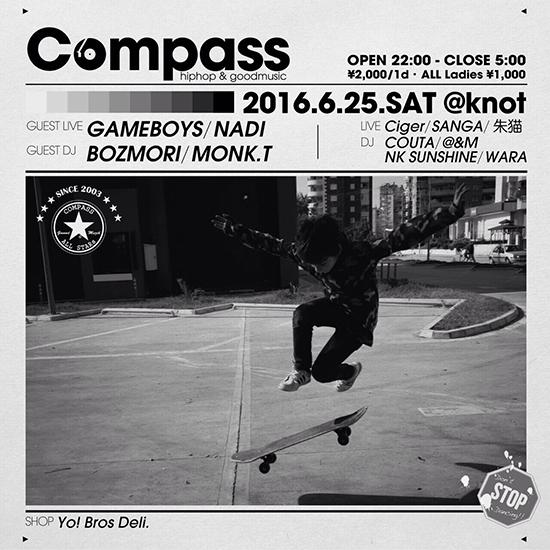 6/25 (sat) Compass @池袋 knot