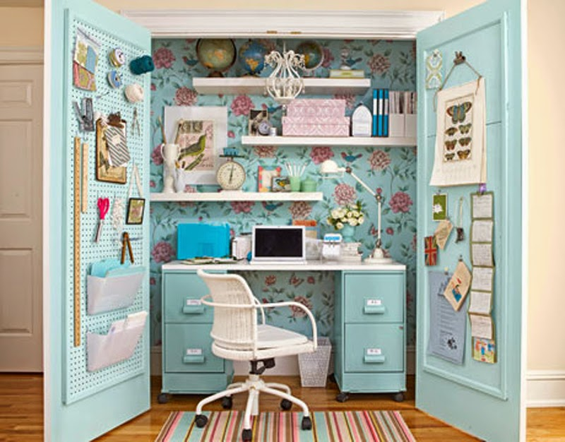 office in a wardrobe. Fitted Wardrobes Can Be Such A Great Space Saver And Produce Some Interior Design Ideas Like These. The Above Picture Is From This Wardrobe Office In U