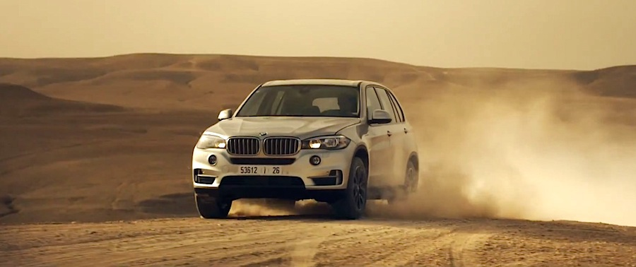 BMWと「ミッション:インポッシブル5」のコラボCM。