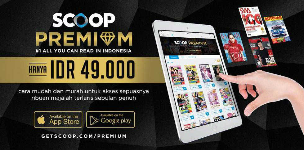 Majalah Digital Gratis SCOOP Premium
