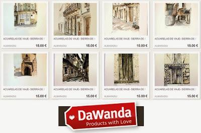 Comprar arte en DaWanda