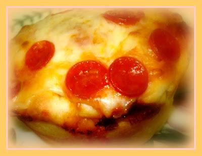Bolinhos de pizza