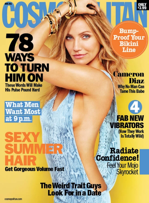 "cameron diaz cosmo cover 2011. girlfriend ""Cover cameron diaz"