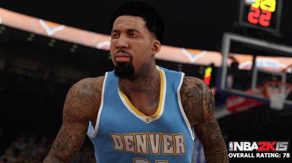 Wilson Chandler NBA 2K15 Screenshot