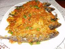 Sambal Ikan Masak Pedas