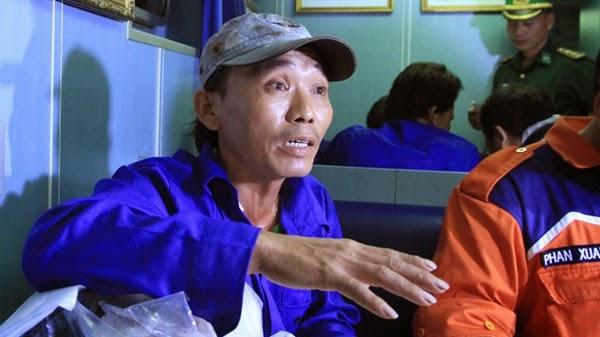 Thuyền trưởng Võ Văn Lẫy