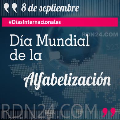 Día Mundial de la Alfabetización #DíasInternacionales
