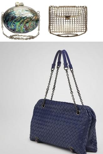 Дамска мода и модни тенденции при мини чантички и чанти с верижни дръжки