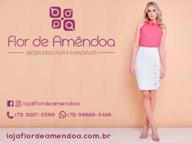 Moda Evangélica- Flor de Amêndoa