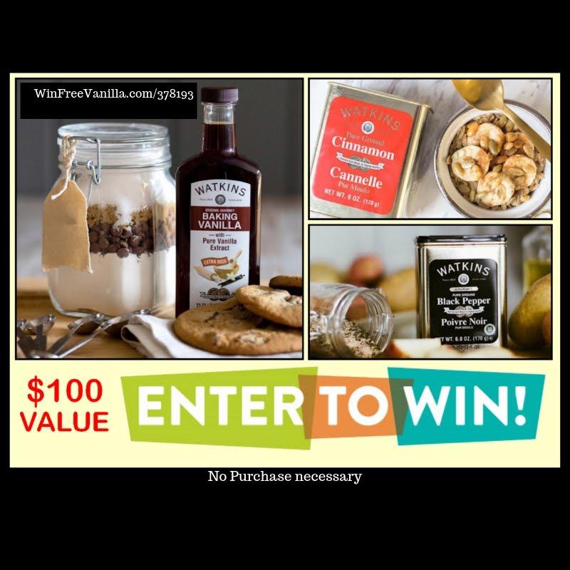 Win Free Vanilla Contest!
