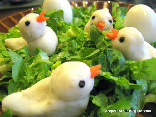 http://acupofsparkle.blogspot.com/2012/02/easter-chicks-fun-cooking-activity-for.html