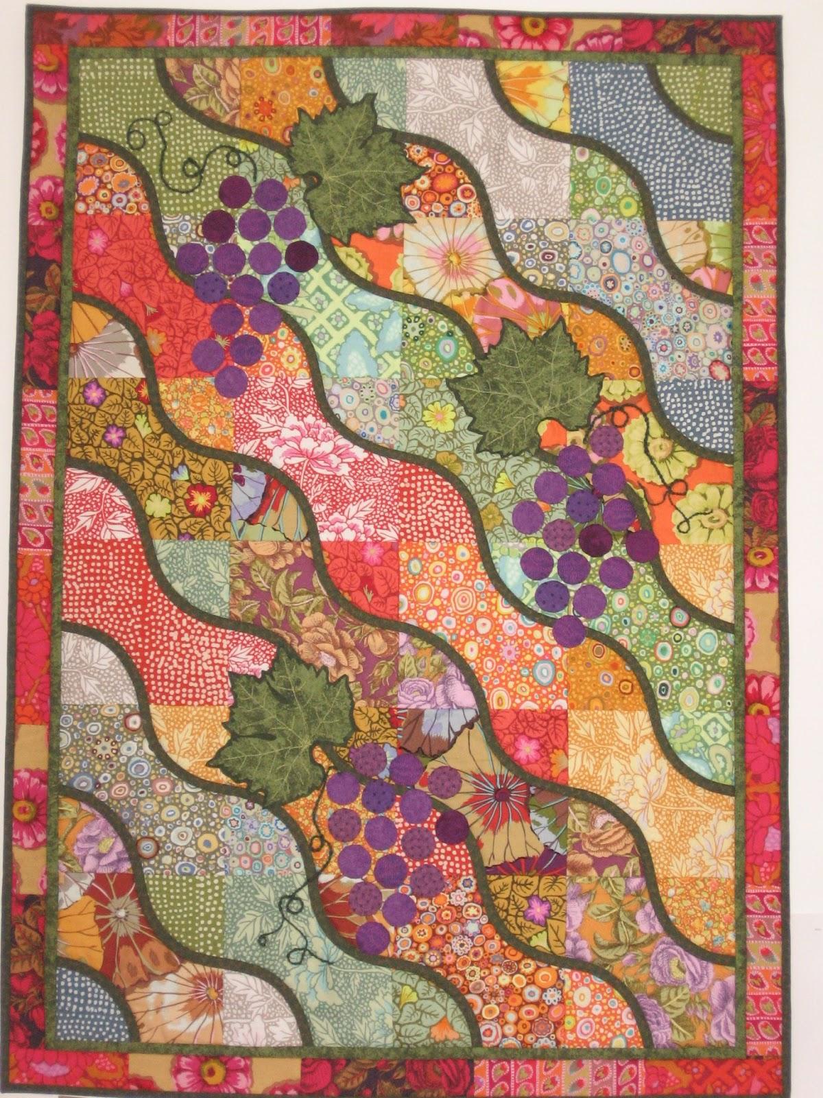 Oranje Quilters Guild: Curvy Squares Simone Schofield