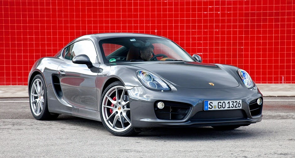 Porsche Cayman HD Wallpaper