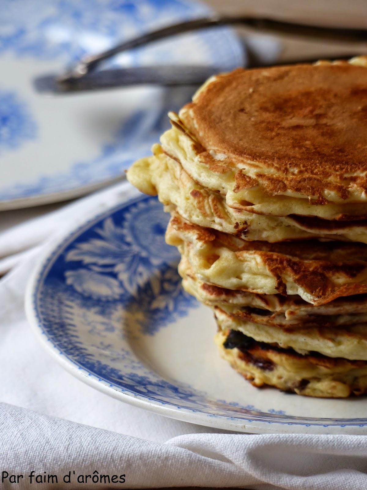 Pancakes fourrés au Nutella®
