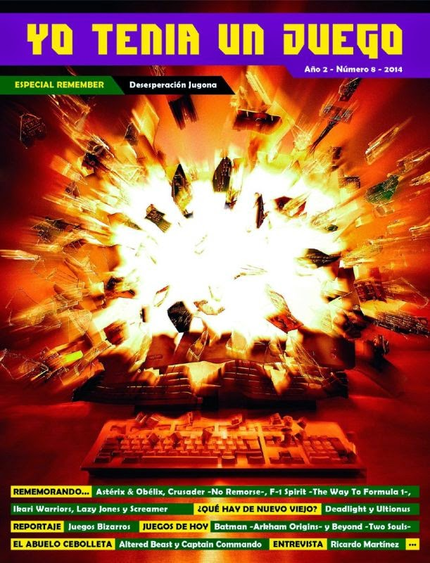 Yo Tenía Un Juego Magazine #08