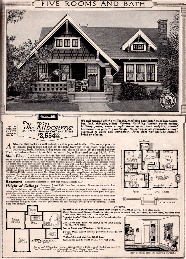 Art now and then the craftsman style for Craftsman style homes open floor plans