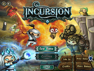 Incursion, TumismoGames free games, online games, action games, adventure games, games for reflection, skill games, strategy games
