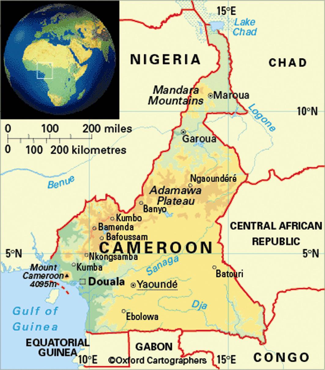 Jeff Heidi Cecil Cameroon Africa