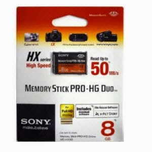 Amazon: Buy Sony MSHX8B 8GB Memory Stick PRO-HG Duo Media at Rs. 699
