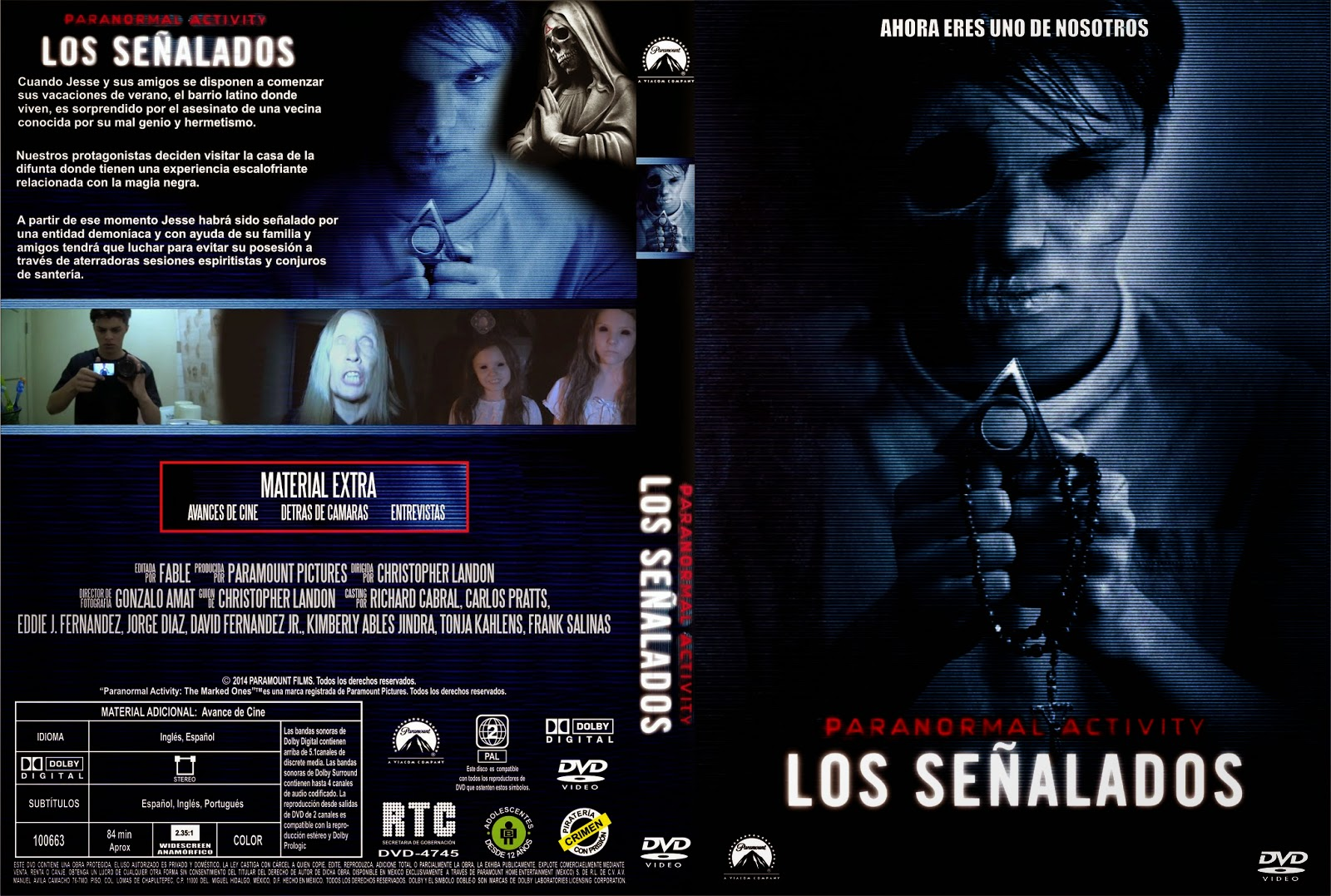 Paranormal Activity Los Señalados DVD