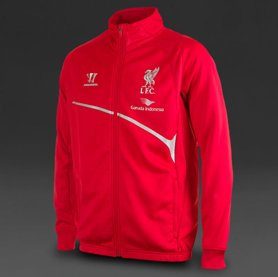 Warrior Liverpool Walk Out Jacket - High Risk RedMicrochip