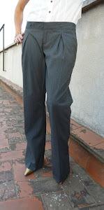 Pantalon de rayas diplomáticas FORNARINA