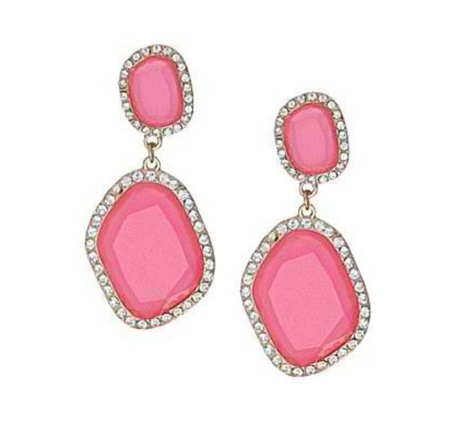earrings girlfriend neon grande products amindy drops aqua pink earring lilac and