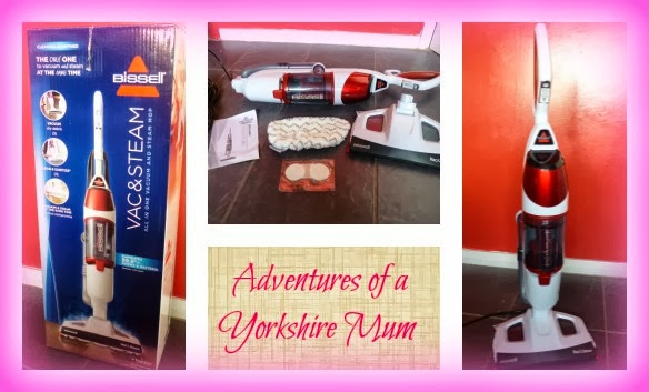 Yorkshire Blog, Mummy Blogging, Parent Blog, Bissell, Vac & Steam,